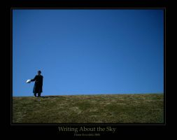 Writing About the Sky by Kelie