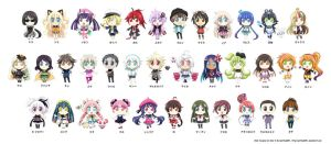 Chibi Vocaloid All Star 2 by Sartika3091