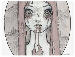 Devoured ::Drawing:: by lavonia