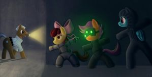 Ponyville's Stealth Team by 2snacks
