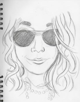 Cassidy in Sunglasses by MyThoughtsAreDeep