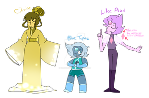 Gemsona Adopts CLOSED BC THESE MY BABIES NOW by ShiroShototsu