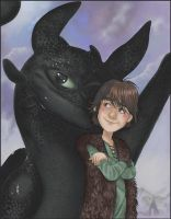 how to train your dragon by Leen-galeas