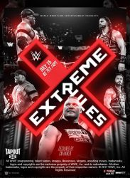 Wwe Extreme Rules Poster 2018 by CMHamza