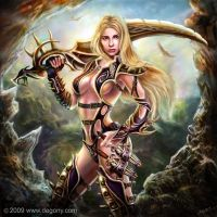warrior babe 1 by loztvampir3