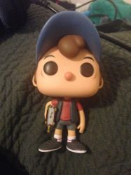 Dipper Funko Pop by cartoonygothica