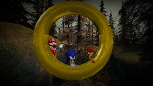If Mario was in... Sonic Nebulous (Gmod) by Micktrap397