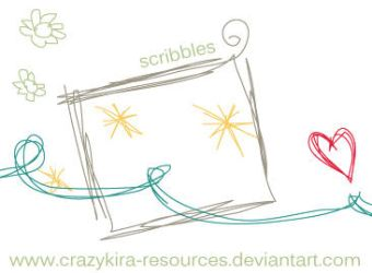 Scribbles .3 by crazykira-resources