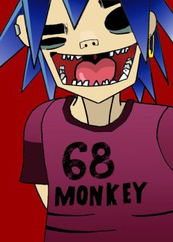 68 monkey 2 by dida13