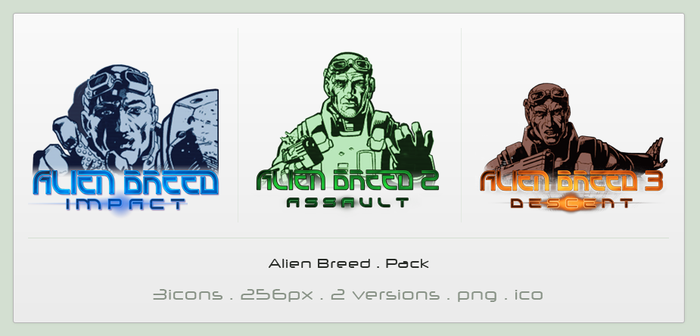 Alien Breed . Pack by Shimmi1