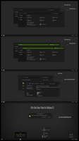 After Dark Green Theme For Windows 8.1 by Cleodesktop
