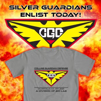 Silver Guardians Power Rangers WeLoveFine by e-Berry