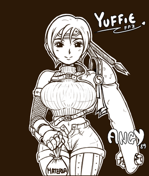 Yuffie Kisaragi by Angy89