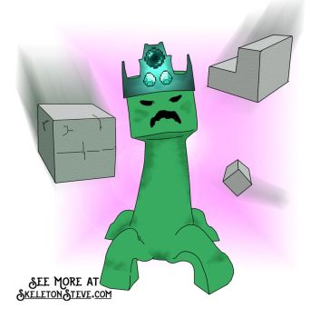 Minecraft Diary of a Creeper 09 by skeletonsteveco