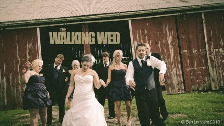 The Walking Wed by punkie078