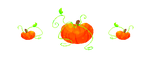 Floaty Pumpkins! by Reygr