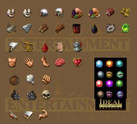 LoW Icons 3 by melvindevoor