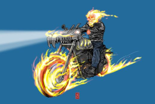 Ghost Rider by christiangmarra