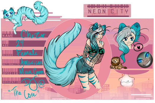 Chez - N-eon City App updated by silverwolf-song