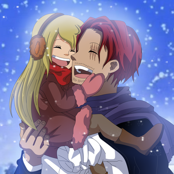 [ONE PIECE] Erika and Shanks~ by RosiieChan