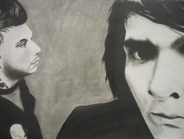 Frerard in Charcoal by WolfyCade