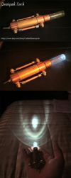 Steampunk Torch by CraftedSteampunk