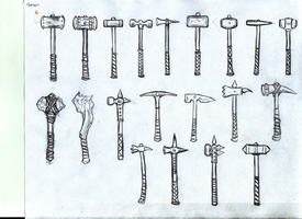 Hammers by ahmonza