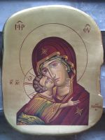 Panagia by teopa