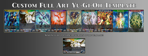 Custom Full Art Yu-Gi-Oh Template by StormEmperorEdgar