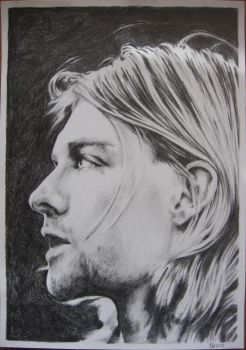 Kurt Cobain by Papaja17