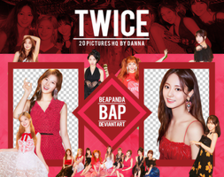 Pack Png 1205 // TWICE (Dance The Night Away) by BEAPANDA