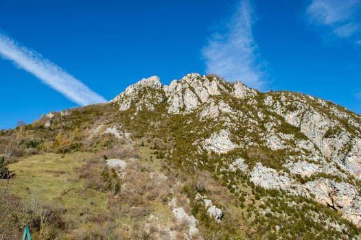 Mountains around Montsgur-3 by RowyeStock