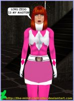 The Pink Ranger Becomes A Fembot by The-Mind-Controller