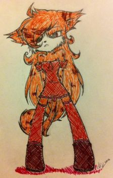 Art Trade: Nn.. (Traditional) by Gizmologist
