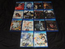 PS4 Game Collection by HannahDoma