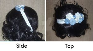 SOLD-Rose Headband by taniathepirate