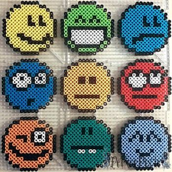 Multiple Emojis by PerlerPixie