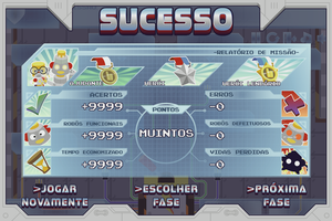 Alfabeta Heroi - Success Screen by tiopalada