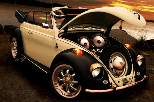 VW Beetle cabrio by Rugy2000