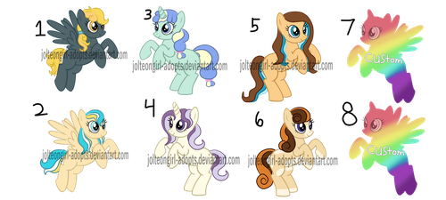 Smol Horse Adopts by Jolteongirl-adopts