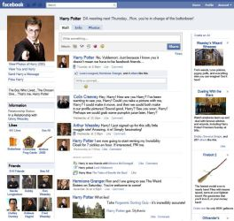 Harry Potter's Facebook Page by Elder-Wand