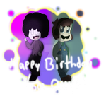 Happy Birthday Pelo and LuigiKid [+ SpeedPaint] by cjc728