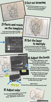 How to Use the Disney's Animation Academy Template by Blamrob