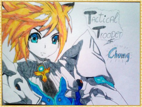 Chung - Tactical Trooper - Elsword by LeanneArts