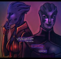 Mass Effect - 'You Better' by lux-rocha