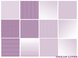 100x100 Lines by Ch4ron