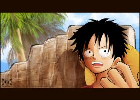 Monkey D. Luffy 01 by MastaHicks