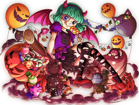 Sugar ~ Trick or Treat ? by FrutiOrient