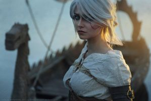 The Witcher 3: Wild Hunt - Ciri by DenikaKiomi