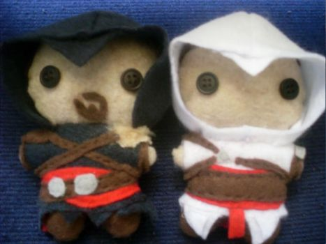 AC: Revelations Plushies by CheesyHipster